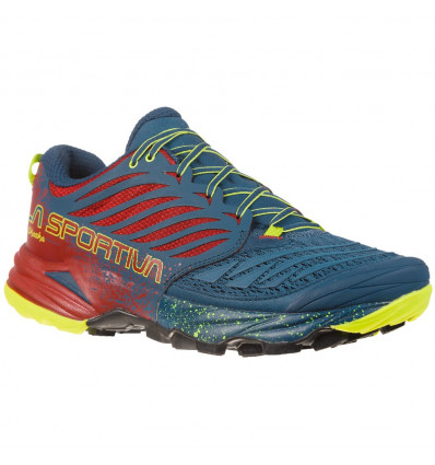 Chaussure trail La Sportiva Akasha (Opal/chili)