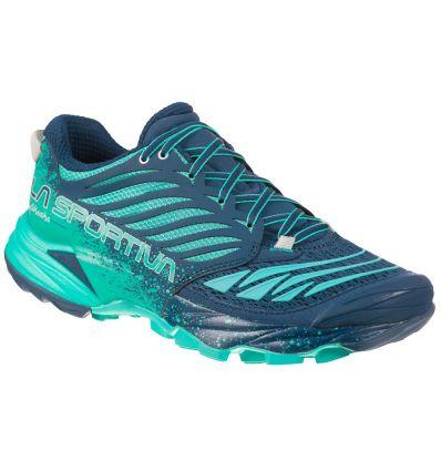 Chaussure de trail/mountain running La Sportiva Akasha (Opal/Aqua) femme