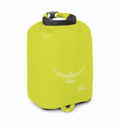 Sac de rangement étanche Osprey Ultralight DrySack 6L (Electric Lime)