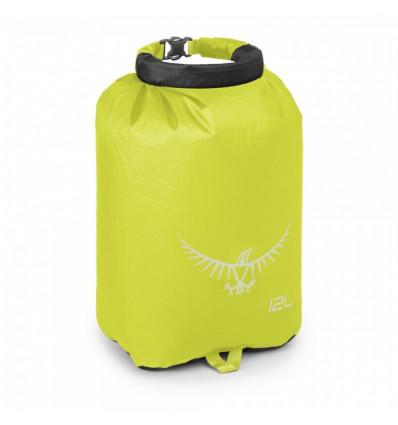 Sac de rangement étanche Osprey Ultralight DrySack 12L Electric Lime