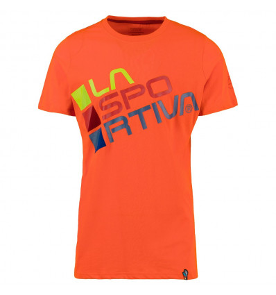T-shirt Square La Sportiva (Pumpkin)