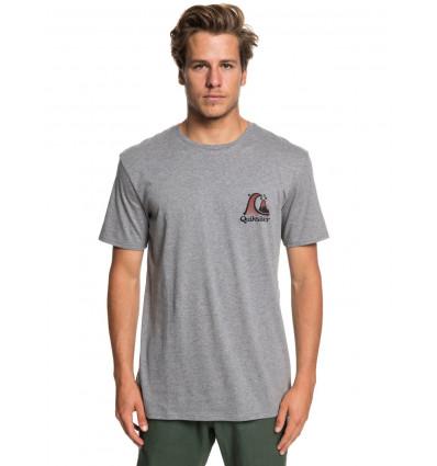 T-shirt Captain slim Quiksilver (Bruyère)