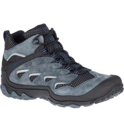 High & mids Cham 7 Limit Mid Wp Hiking Shoe Merrell (Turbulence) - AlpinStore