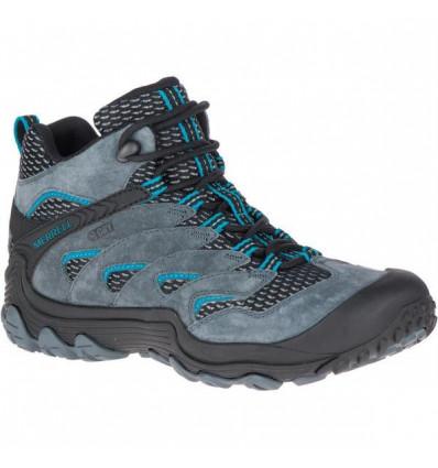 Chaussure randonnée Cham 7 Limit Mid Wp Merrell (Turbulence) femme