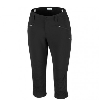 Peak To Point Knee Columbia (black) women cropped trousers