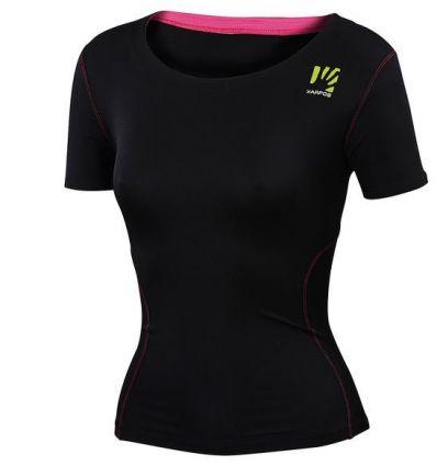 Tee shirt Karpos Fast W Jersey (Black) femme