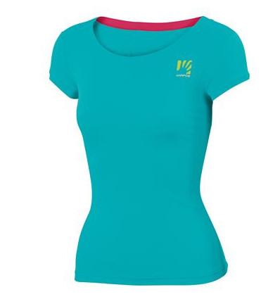 T-shirt LOMA Karpos (bluebird/raspberry) femme