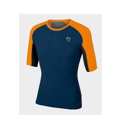 T shirt Karpos Lavaredo Jersey (blue orange fluo black)