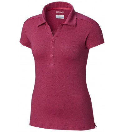 Polo Columbia Shadow Time Femme (Haute Pink)