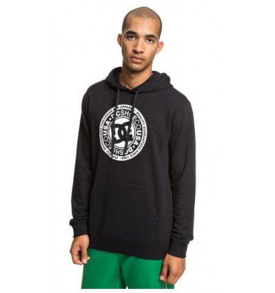 Sweat à capuche Circle Star Ph DC Shoes Black