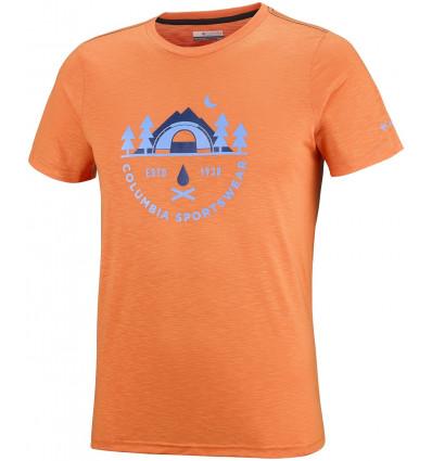 T-shirt Nelson Point Graphic Short Sleeve Tee Columbia (Koi)