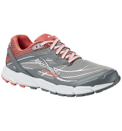 Chaussure trail Columbia Caldorado III Om Od Wmns (monument, Red C) femme