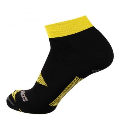 Chaussette running Bi Climasocks marathon Rywan Black yellow