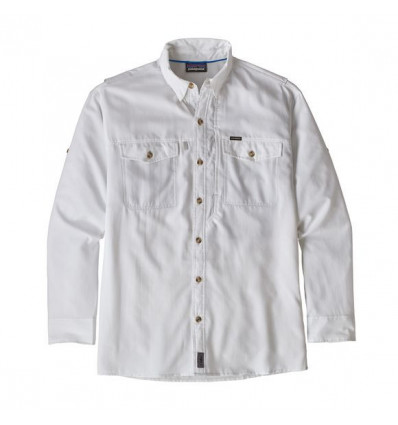 Chemise manches longues Patagaonia Sol Patrol II Shirt (White) homme