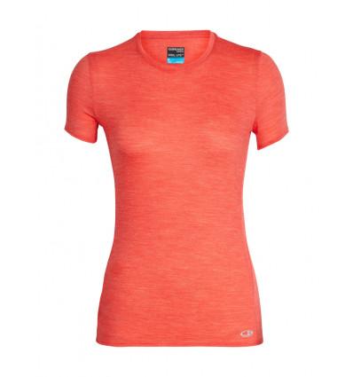 T shirt Icebreaker Amplify Ss Low Crewe (ember htrh) femme