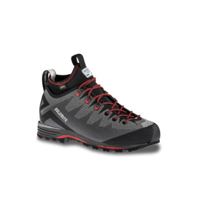 Chaussures d'alpinisme Dolomite Veloce GTX (Pewter Grey/Fiery Red)