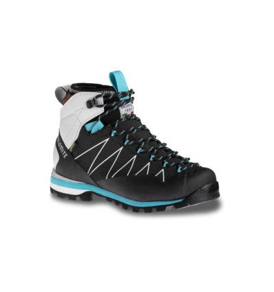 Chaussures Dolomite Crodarossa Pro GTX W's Shoe Black/capri Blue (femme)
