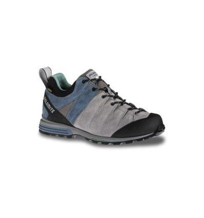 Chaussures Dolomite Diagonal Pro GTX W Shoe (Warm Grey/stone Blue) femme