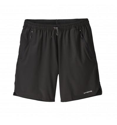 Short de running PATAGONIA Nine Trails Shorts - 8 In. (Noir) Homme