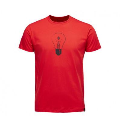 Teeshirt Black Diamond Ss Bd Idea (Hyper Red)