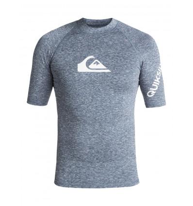 T shirt All Time Ss Quiksilver (Dark Denim Heather)