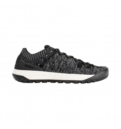 Chaussures Hueco Knit Low Men Mammut Black Titanium