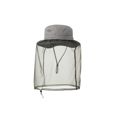 Chapeau filet anti-insectes Outdoor Research Bug Helios Pewter