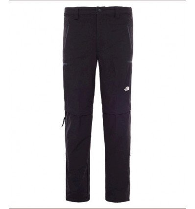 PANTALON CONVERTIBLE EXPLORATION (black) - The North Face