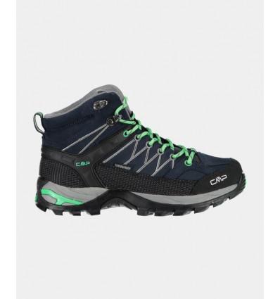 Chaussures RIGEL MID TREKKING SHOES WP (Asphalt Ice Mint) femme