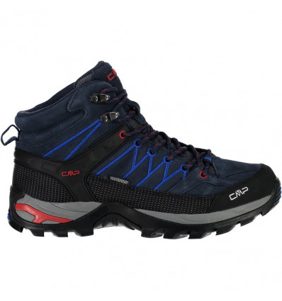 Chaussures RIGEL MID TREKKING SHOES WP CMP (B.blue Royal)