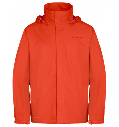 Veste imperméable Men Escape Light Jacket Vaude (Paprika)