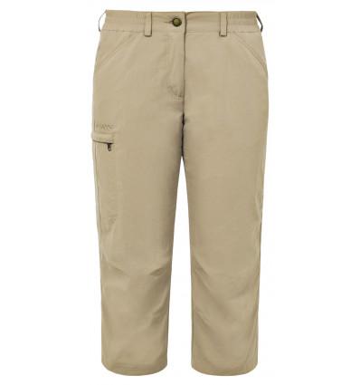 Pantalon Farley Capri Iv Vaude femme Muddy