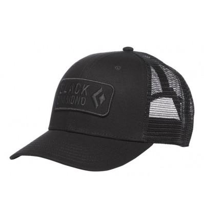 Casquette Black Diamond Trucker (Noir-Noir)