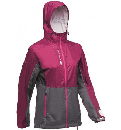 Raidlight Top Extreme Mp plus Jacket W (GARNET / GREY) femme