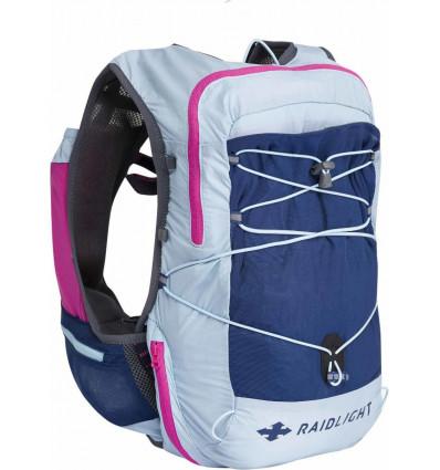 Gilet trail Raidlight Activ Vest 12l W (PINK/LIGHT BLUE) femme
