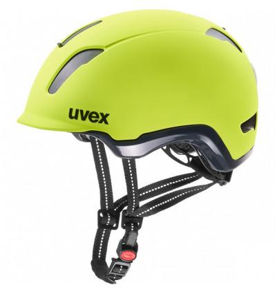 Casque de vélo Uvex City 9 (Neon Yellow)