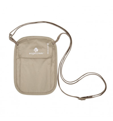 Sacoche RFID Blocker Neck Wallet Eagle Creek (Tan)