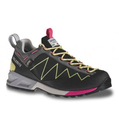 Chaussures Dolomite Crodarossa Lite GTX W's Shoe (Black/Apple Green)