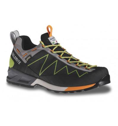 Chaussures Dolomite Crodarossa Lite GTX Shoe (Black/kiwi Green)