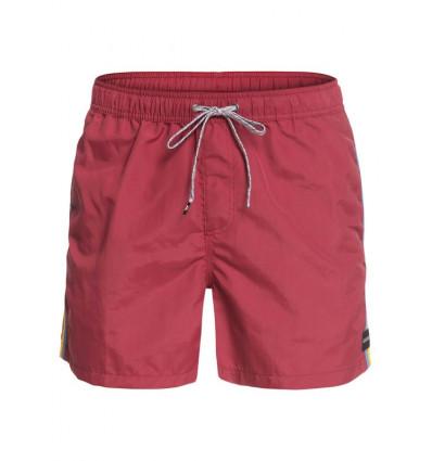 Short de bain Vibes Volley 16 Quiksilver (Brick red)