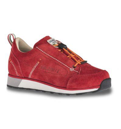 Chaussures Dolomite 54 Low 2 Jr Shoe (Red) enfant
