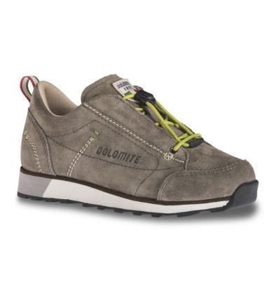 Chaussures Dolomite 54 Low 2 Jr Shoe (Mud/Green) enfant