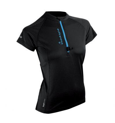 Raidlight maillot Activ Run Ss Shirt Mid Zip W (noir) femme