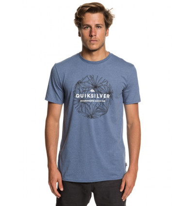 Tee shirt Classic Bob Ss Quiksilver (Bijou Blue Heather)