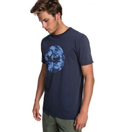Tee shirt Quik Circled Ss Quiksilver (Blue Nights)
