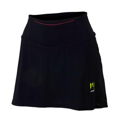Jupe short running Karpos Lavaredo Run Skirt (Black/pink Fluo) femme