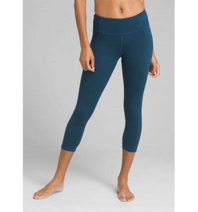 Legging yoga Momento Capri (Petrol Blue) - prAna