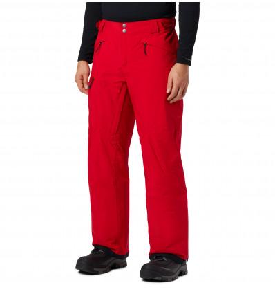Pantalon de ski Columbia M Cushman Crest (Mountain red)