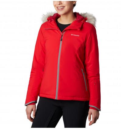 Veste de ski Columbia Alpine Slide Jacket (red lily) femme