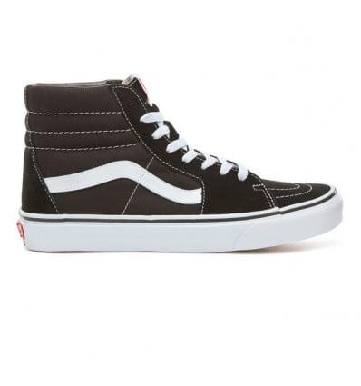 Shoes Vans SK8-HI (Black/white) Women
